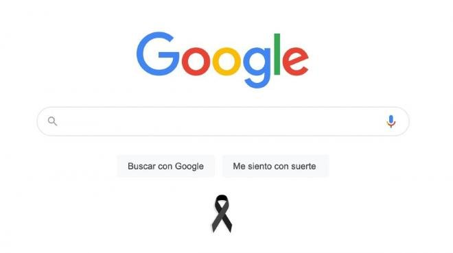 ¿Por qué aparece un moño negro en Google? | Accidente Línea 12