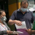 Vacunación en alcaldía Cuauhtémoc para adultos de 50 a 59 años Foto: Especial