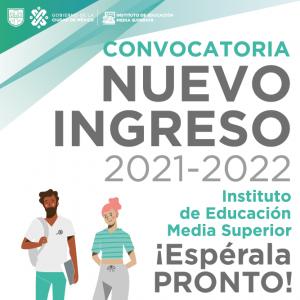 IEMS CONVOCATORIA 2021 A 2022