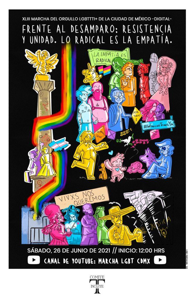 cartel marcha gay