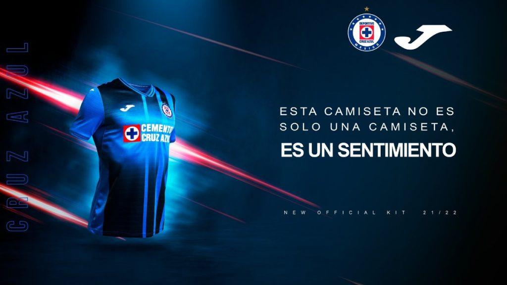 nuevo jersey cruz azul 2021 2022