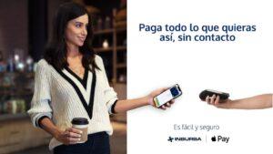 Inbursa ya tiene Apple Pay