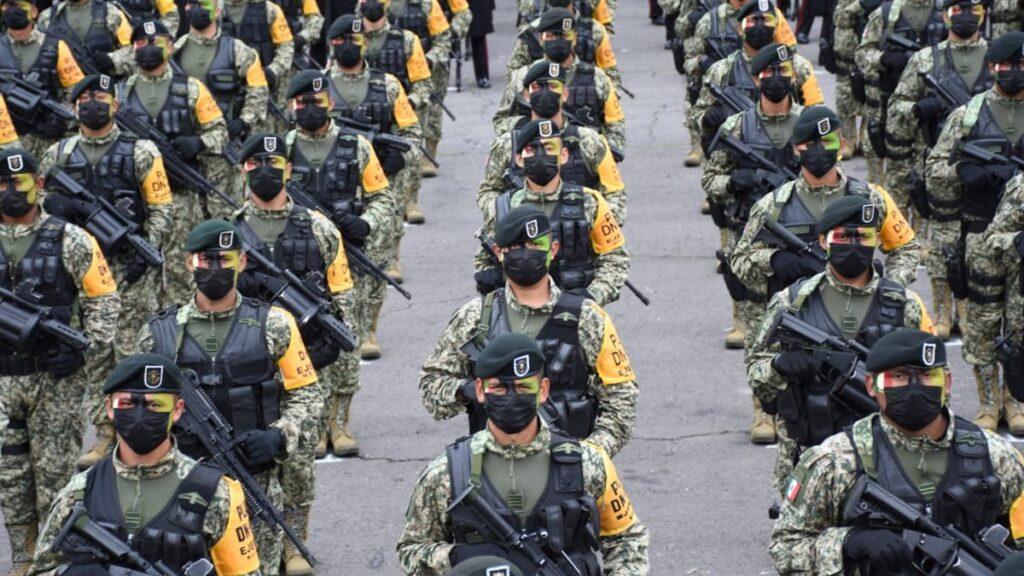 Ruta desfile militar