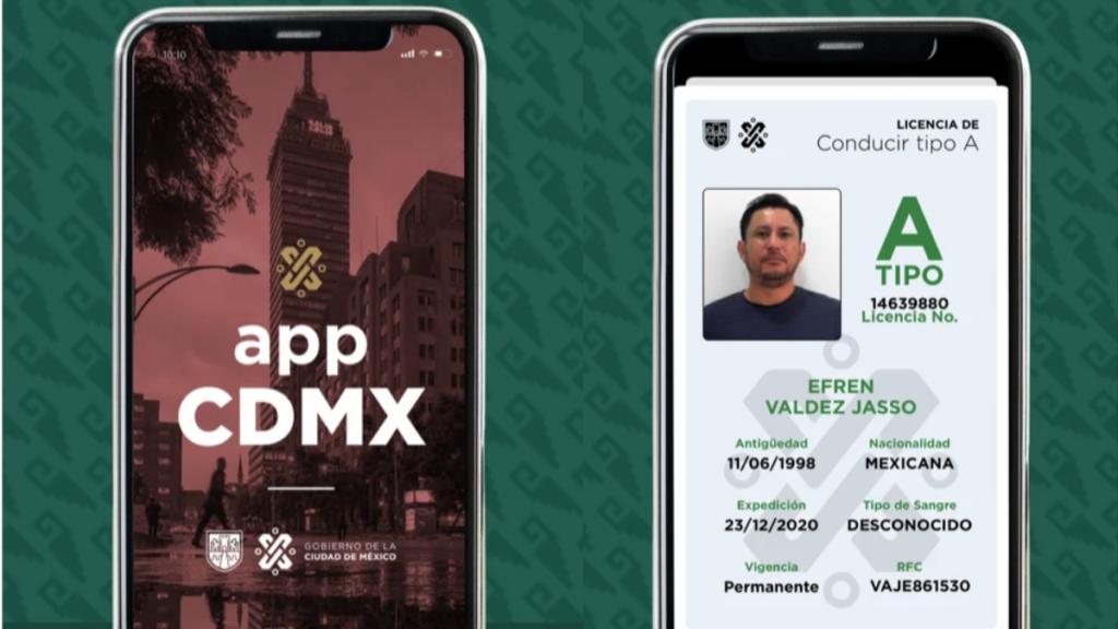 Licencia digital CDMX