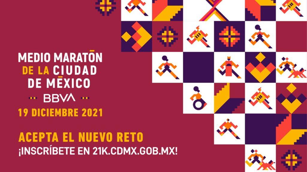 medio maraton cdmx 2021