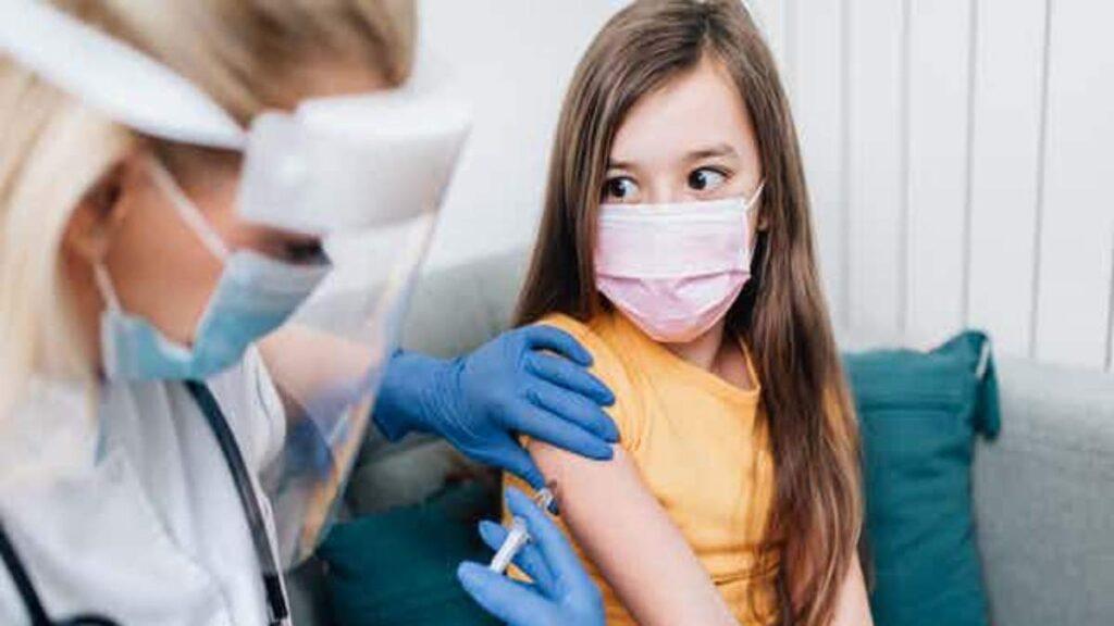 Registro de vacunación a menores