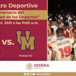 Aguiluchos HCM VS Pumas UNAM